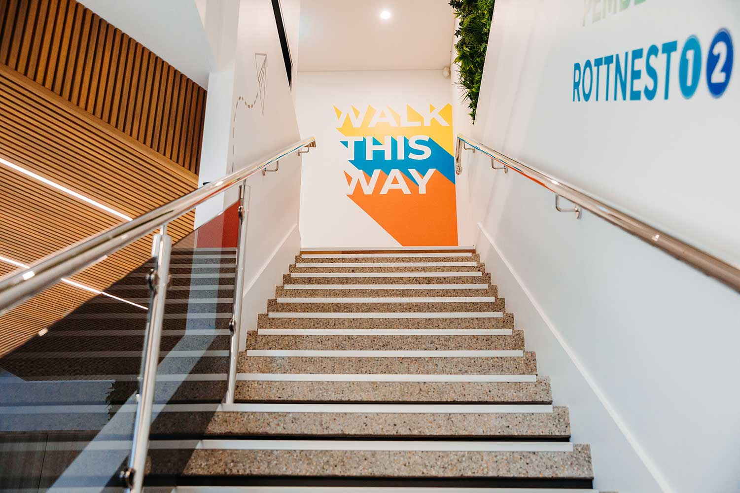 Bayswater Campus Stairs
